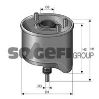 Purflux Cs762 Yakıt Filtresi P207 1.4-1.6 Hdi-P308-P508-P3008-P5008-Partner Tepee-Berlıngo-C3-C4 1.6 Hdi