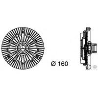 Behr 8Mv376734441 Marka: Bmw - E46/X5/65 - Yıl: 02-05 - Fan Termiği - Motor: M57n