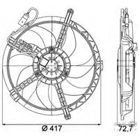 Bsg 15510004 Klima Fanı Komple - Marka: Bmw - Mını - Yıl: 07-14 - Motor: R56-57-58-59-60
