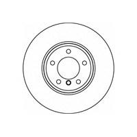 Textar 92122603 Marka: Bmw - E60 - Yıl: 03-10 - Ön Disk Ayna - Motor: Bm