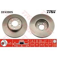Textar 92122800 Marka: Bmw - E65/66 - Yıl: 02-05 - Ön Disk Ayna - Motor: Bm