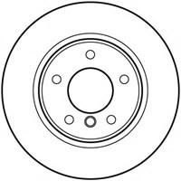Textar 92133103 Marka: Bmw - E81/87/90/91/92/93 - Yıl: 04-08 - Arka Disk Ayna - Motor: Bm