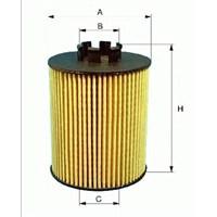Hengst E122hd187 Marka: Bmw - E81/82/87/88/90/91/92/93/X1 E84/60/F10 - Yıl: 08- - Yağ Filtre - Motor: N47n