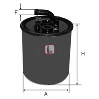 Mahle Kl1001 Yakıt Filtre (H70wk18) - Marka: Ml - W168-414 Vaneo - Yıl: 00-05 - Motor: Om668