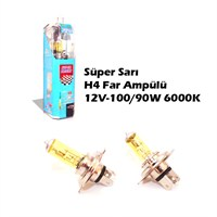 Autocet Csp Süper Sarı H4 Far Ampülü 12V-100/90W 6000K 9031