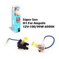 Autocet Csp Süper Sarı H1 Far Ampülü 12V-100/90W 6000K 9032