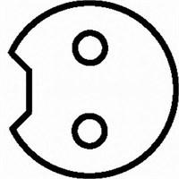 Gva 5329161 Abs Tekerlek Hız (Devir) Sensörü Ön Sol Doblo 1.2-1.4-1.6-1.3 Jtd-1.9D-Jtd-Dmtj (01-08)