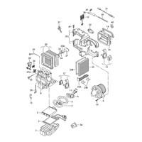Behr 5Hl351321281 Fan Regulatörü (+Ac) - Marka: Vw - Polo - Yıl: 06-10 - Motor: Bm
