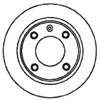Auto 29319 Arka Fren Aynası Xantıa 1.6İ-1.8İ-1.9D-1.9Td- 2.0İ-2.1Td 93-03 (224X9x4dl)