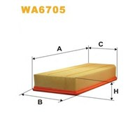 Bsg 60135008 Hava Filtre - Marka: Ml - W203/211/220 - Yıl: 00-07 - Motor: Om 611-612-613