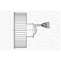 Mako 69401199 Fan Motoru (Tek Motor) Clıo Klımasız