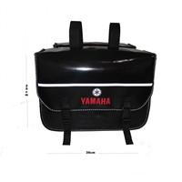 Tex 93 Yamaha Reflektörlü Suya Rüzgara Aşınmaya Dayanıklı Deri Heybe Çanta (28-30 Lt.)
