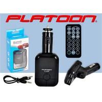 Platoon Pl-9239 Araç Oto Bluetooth Fm Transmitter Çakmak Şarj