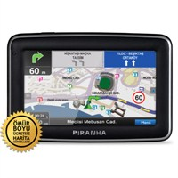 "Piranha Strado 4.3"",Navigasyon Cihazı (Ömür Boyu Ücretsiz Güncelleme)"