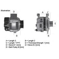 Dwa 15440 Alternator 12V Astra-Sıgnum-Vectra-Zafıra 2,2I 16V/2,0T/2,0I Gts 03-08 (Bosch Type)
