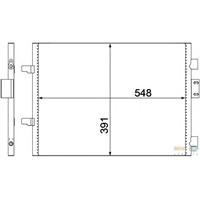 Valeo 817602 Klima Kondenseri Clıo Iı 01>1.5 Dcı (510X380x16)