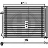 Behr 8Fc351309141 Marka: Bmw - F06/07/10/11/12/13/18/01/02 - Yıl: 10- - Klima Radyatörü - Motor: Bm