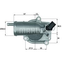 Behr Th987 Termostat - Marka: Ml - W202 - Yıl: 97-99 - Motor: Om611