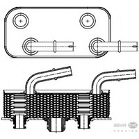 Behr 8Mo376790791 Marka: Bmw - E46/X3/X3 Lcı/Z4 E85 - Yıl: 02-10 - Yağ Soğutucu - Motor: Bm