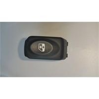 Renault Clıo - Kango - Megane I 6 Pin Siyah Cam Düğmesi