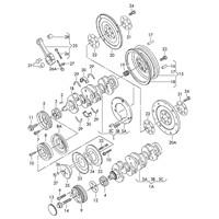 Glyco 553443 Kol Burcu (24 Pim) - Marka: Vw - T4/Caddy2/A80 - Yıl: 90-02 - Motor: 1,6-1,9 D-2,4 D-Aab-Abl-1Y