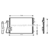 Aft Rc14155 Klıma Kondenseri Clıo Iı-Kng 1-2-1.4-1.5Dcı-1.6-1.9 (97-01)