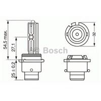 Bosch 1987302903 Xenon Ampul Desarj Cıkıs 35W / D2r / P32d3
