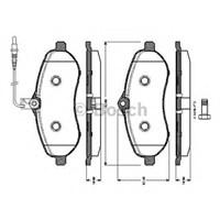 Autotechdb 289-189 Ön Balata Fıslı Expert-Scudo-Jumpy-1.6-2.0 Mtj 07=>