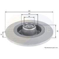 Snr Kf155.115U Arka Fren Aynası Mgn Iı 2.0Dcı-Scenıc Iı 2.0Dcı 04> (280X10x5dl) (Poryalı)