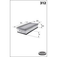 Purflux A1341 Hava Fıltresı P206-P307 1.4I 16V- C4 1.4 16V 90Hp (A1258)