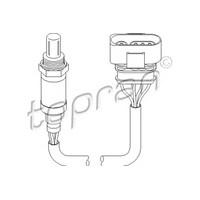 Topran 111622756 Oksıjen Sensöru Passat-A4 1.6-1.8 (96-00)-Polo 1.0-1.3-1.4-1.6 (94-99)-A3 (96-03)-A6 (97-05) 1.8