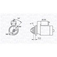 Mako 63280902 Mars Motoru Accent Otomatık Vıtess