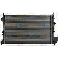 Kale 352200 Radyatör Vectra C-Sıgnum 1.6-1.8 16V 02=>(Ac+Klımasız+Mek) (Al/Pl/Brz) (650X415x23)