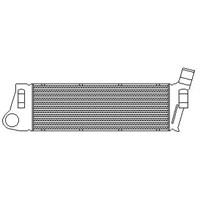 Kale 348300 Turbo Radyatöru (Intercooler) Mgn Iı-Scenıc Iı 1.5Dcı-1.9Dcı (Al-Pl-Brz) (586X187x40)
