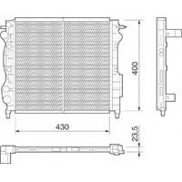 Kale Radyatör 0533331Pa Radyator Su 1 Sıra ( Renault : Express 1.4Ie Clıo I E7j )