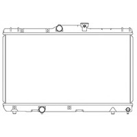Kale Radyatör 1801011Pa Su Radyatoru-(Man.)-(Toyota: Corolla 93>98 Ae100-Ae101 )