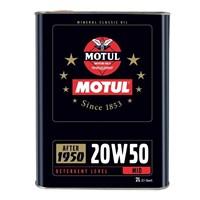 Motul Mineral Classic Oil 20W50 2 Litre