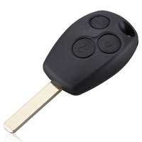 Gsk Renault Clio Hb Anahtar Kabı 3 Tuş ( Pantograf Uçlu )