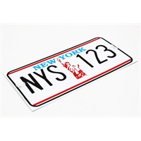 ModaCar NEWYORK İmitasyon Amerikan Plaka 331186NY