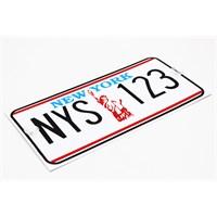 ModaCar Newyork İmitasyon Dekoratif Amerikan Plaka 331186NY