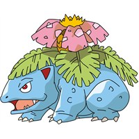 Pokemon Venasaur Sticker