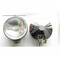 Sis Lambası Beyaz Yuvarlak Arkası Nikelaj Çap:17Cm Adet 3023201