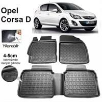 3D Kauçuk Paspas Opel Corsa D Kasa