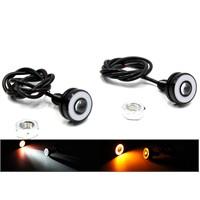 Modacar Cob Turuncu Halkalı Beyaz Projektör Mercek Lamba 104703