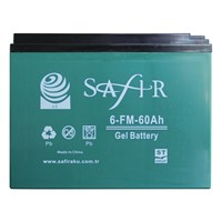 Safır Jel 12V 60Amp Batarya