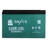 Safır Jel 12V 12Amp Batarya