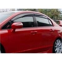 Hyundai i30 2012 sonrası Mugen Cam Rüzgarlığı Ön/Arka Set
