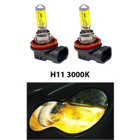 Gliptone Super Yellow H11 JDM Sitili Sarı Ampul Seti