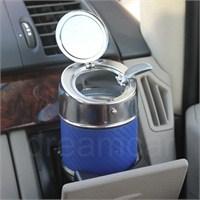 Dreamcar Metal Küllük Mavi Karbon Otomatik Kapaklı 0700904