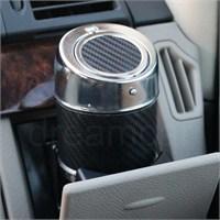 Dreamcar Metal Küllük Siyah Karbon Otomatik Kapaklı 0700901